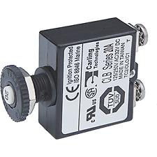 40 Amp Blue Sea 7224 AC DC Single Pole Magnetic World Circuit Breaker
