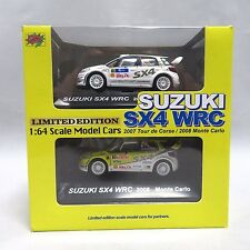 Mini car 1/64 scale Rally car collection SUZUKI SX4 WRC partner shop limited