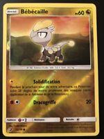 Carte Pokemon BEBECAILLE 52/70 REVERSE Soleil et Lune 7.5 SL7,5 FR NEUF