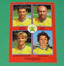#324 MARQUET DURAND RIVENET RAY FC GUEUGNON PANINI FOOT 97 FOOTBALL 1996-1997