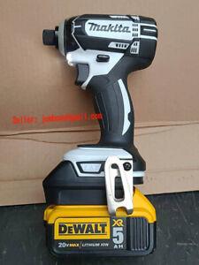 Adapter-For Dewalt 18/20V max Li-ion battery convert to Makita 1820/30 tool use