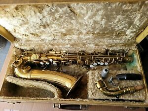 Conn 6M VIII Naked Lady Alto Saxophone 1939 orig case #285...