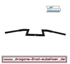 CRC® Fatbar Z Lenker HOLLISTER D=31,75/25,4mm H=12cm B=87cm BLACK Harley