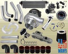 95-99 Dodge Avenger Neon 420A Turbocharger Turbo Kit Black+Manifold+Bov+Wg+Gauge