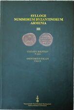 2016 Sylloge Nummorum Byzantinorum Byzantine coins Armenia Armenian Museum Free