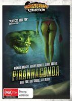 Piranhaconda (DVD) HALF FISH HALF SNAKE [Region 4] New/Sealed