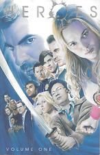 Heroes Vol 1 & 2 NBC TV Show Tie-In TPBs DC Comics 2007 OOP