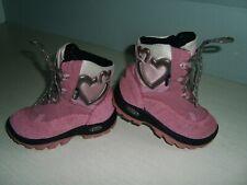 1.Super Winter Stiefel GEOX Gr.24 rosa grau Leder-Mesch Gore-Tex