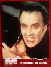 BRITISH HORROR COLLECTION - CHRISTOPHER LEE, Scars of Dracula - PREVIEW Card PR1