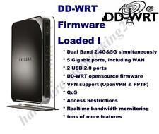 Netgear WNDR4500V2 Dual Band 2.4G/5G Wireless N Router with DD-WRT VPN firmware