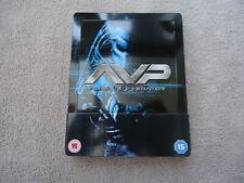ALIEN VS PREDATOR AVP BLU-RAY (UK Exclusive 1/4 Slip Steelbook) OOS OOP