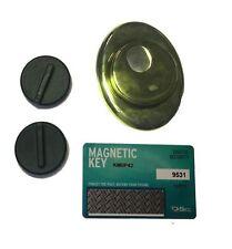 Defender Magnetico DISEC MRM29 25D1 ORO Protezione Serratura Cilindro Europeo