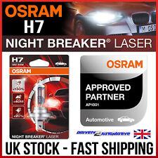 Osram 1x H7 12V 55W PX26d Bombilla láser Interruptor de noche actualización +130% 64210NBL-01B