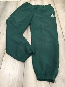 VINTAGE ADIDAS TRACKSUIT BOTTOMS SIZE XL GREEN