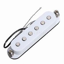 Électrique 6 Corde Capteur de Guitare Bobine Simple Moderne Blanc Parties