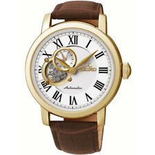 Relojes de pulsera Seiko de piel para hombre