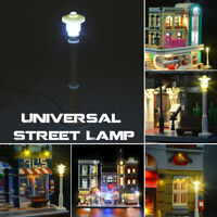 1x Universal LED Laterne Licht Für Lego Streetscape Building 10251 10246 10243
