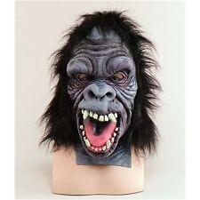 Scary Gorila overhead Máscara-Mono Mono Halloween Disfraz Talla Única