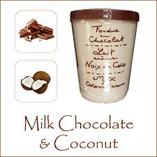 Elegante fonduta Cioccolato da AUX anysetiers DU ROY-cioccolato al latte & cocco