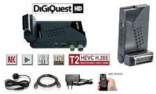 DigiQuest Easy Scart HD HDMI DVB-T2 HEVC H.265 FullHD USB Mediaplayer USB PVR