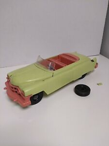 Vintage 1950s Ideal Fix-It Convertible Cadillac Eldorado Rare Color