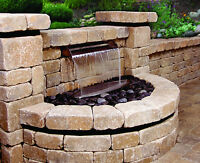 "Atlantic SS24 Stainless Steel Scupper 24"" W Waterfall Spillway for water feature"