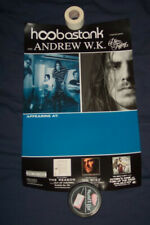 Hoobastank Andrew Wk Tour Poster