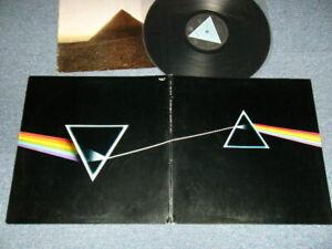 PINK FLOYD Japan 1973 EOP-80778 LP+Booklet THE DARK SIDE OF THE MOON Solid Blue