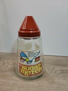 Vintage Gemco Brand Sugar Meter Measures 1/2 teaspoon every tilt NOS
