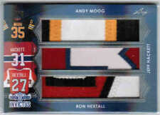 17/18 LEAF INVICTUS MOOG/HACKETT/HEXTALL TP-07 TRIPLE PATCH /6 BRUINS HABS FLYER