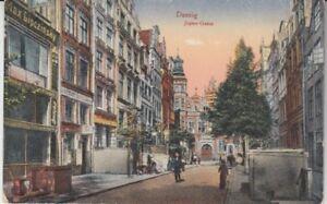 Carte Postale Danzig Jopen - Ruelle