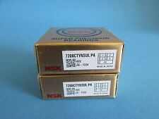 NSK 7200CTYNSULP4 Abec-7 Super Precision Spindle Bearings.Matched Set of Two