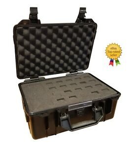 Protective Equipment Hard Carry Case Waterproof Foam Plastic Box Camera Travel