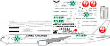 Japan Airlines Sky Eco Boeing 777-300 decals for Minicraft 1/144 kit