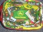 Longaberger Tea Basket LINER ONLY John Deere Fabric New