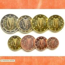 Kursmünzensatz Irland 2011 1c-2 Euro•Münze•KMS alle 8 Münzen Satz Eurosatz Set