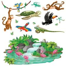 Amazon JUNGLE ANIMAL PROPS Party Decorations RAINFOREST Tropical Island LUAU
