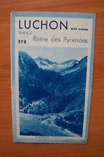 LUCHON 630 mètres ETE Reine des pyrénées HIVER porte des champs de nei