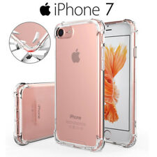 Funda Gel Silicona Transparente Proteccion Antigolpes para iPhone 7