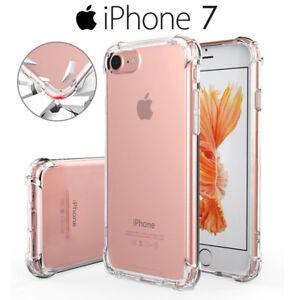 Funda Gel Silicona Transparente Proteccion Antigolpes para iPhone 7