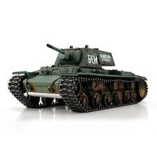 1:16 Torro Russian KV-1 RC Tank Airsoft 2.4GHz Metal Edition Green