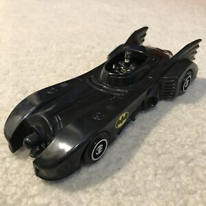 "1989 Rare Vintage Batman Batmobile Toy Car Vehicle 7"" Long DC Comics"