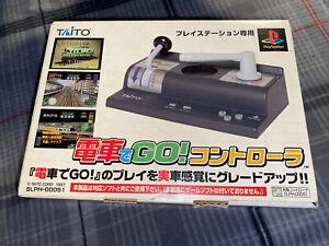 Densha de GO! PS1 Train Controller & Densha de GO! 2 - Taito w/ Box - No Game