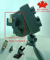 BNC to BNC Antenna Bracket Holder Stand Portable For ICOM 705 IC-705 SDR Radio