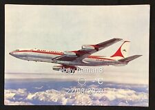 India Airlines postcard - Air India Boeing 707