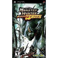 Monster Hunter Freedom Unite Sony For PSP UMD Strategy 7E