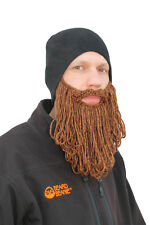 Beard Beanie -The Original- Eco2 Black With Long Beard