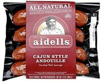Aidells Cajun Style Andouille Sausage 12 Oz (4 Pack)