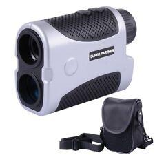 Golf Laser Range Finder w/Slope Compensation Angle Scan Pinseeking Club w/Case