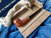 NEVER SMOKED Antique HICKOK PREMIER Imported Briar ISRAEL SURVIVOR Pipe UNIQUE